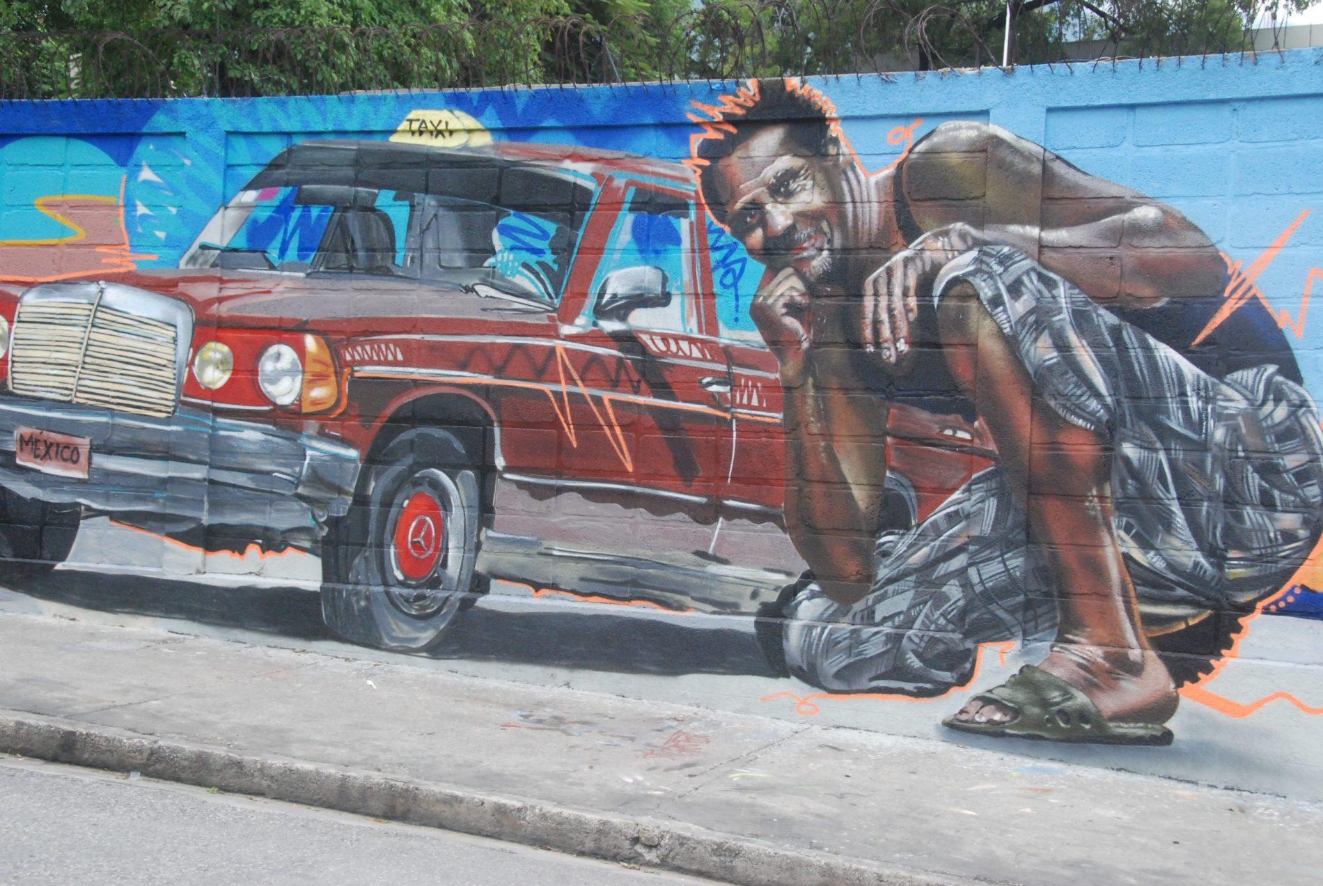Le street art ne s'est pas laissé intimider par les barricades de Port-au-Prince