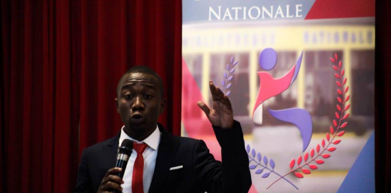 Inrico Dangelo Néard, installé directeur général de la Bibliothèque nationale d'Haïti